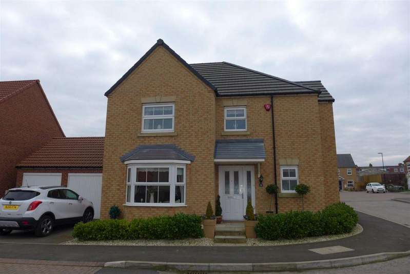 4 Bedrooms Detached House for sale in Chaffinch Road, Easington Lane, Houghton Le Spring