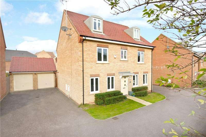 6 Bedrooms Detached House for sale in Winchcombe Meadows, Oakridge Park, Milton Keynes, Buckinghamshire