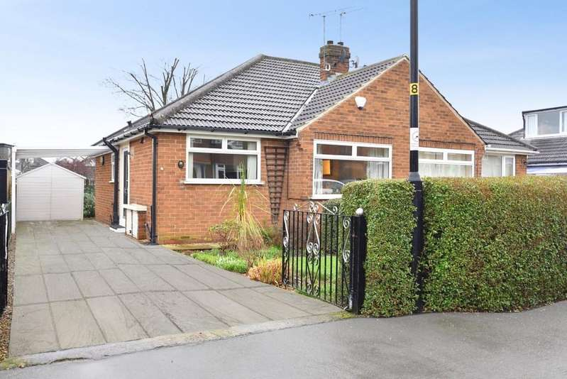 2 Bedrooms Semi Detached Bungalow for sale in Sandhill Drive, Harrogate