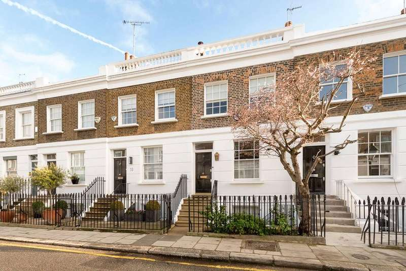 3 Bedrooms Terraced House for sale in Bramerton Street, London