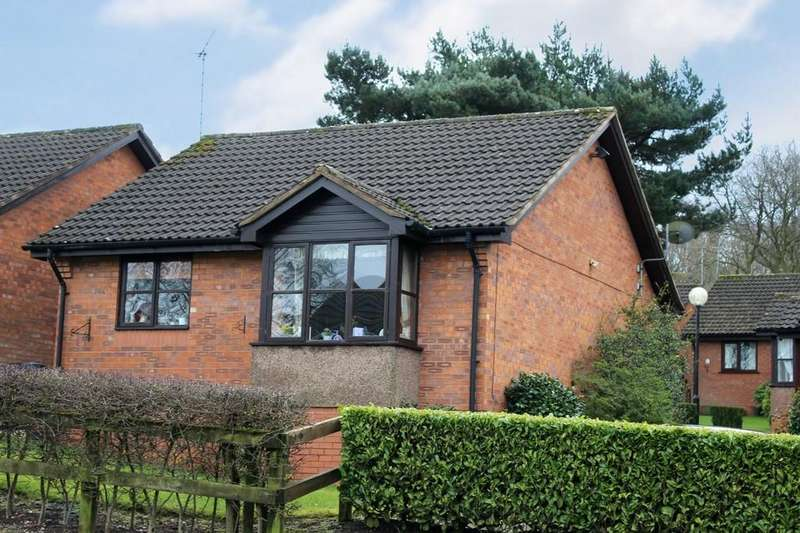 1 Bedroom Detached Bungalow for sale in Pine Court, Loggerheads, Staffordshire