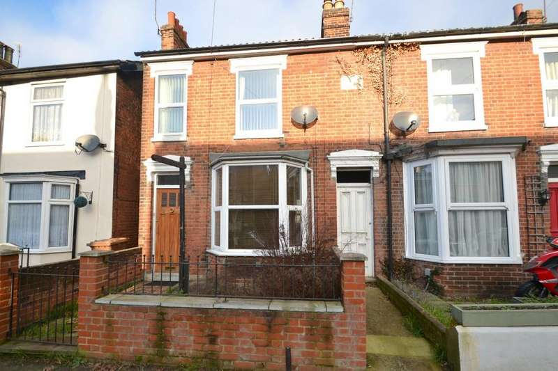 3 Bedrooms Semi Detached House for sale in Lacey Street, Ipswich, Suffolk