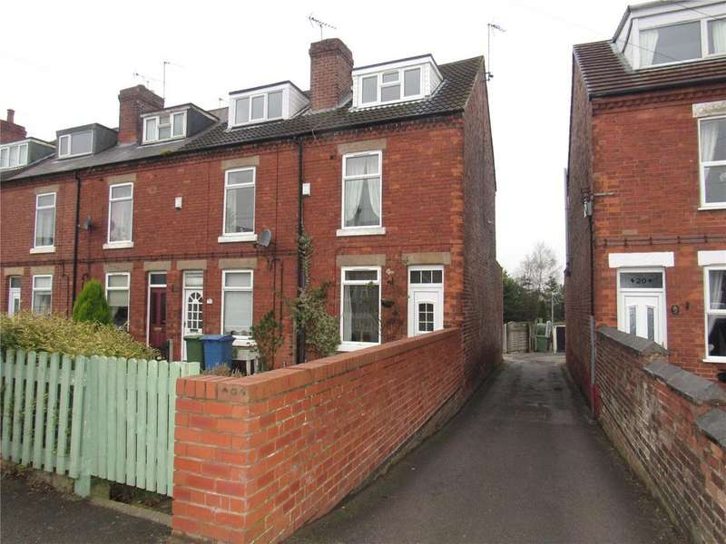 3 Bedrooms Terraced House for sale in Mansfield Road, Warsop, Nottinghamshire, NG20