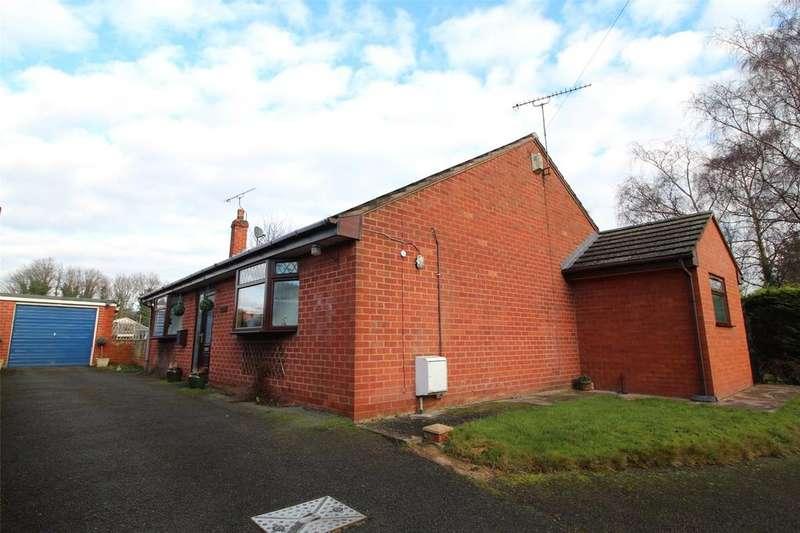 2 Bedrooms Detached Bungalow for sale in Abermorddu, Wrexham, LL12