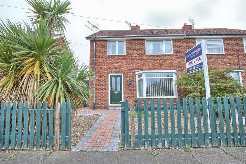 3 Bedrooms Semi Detached House for sale in Vicarage Drive, Marske-by-the-Sea
