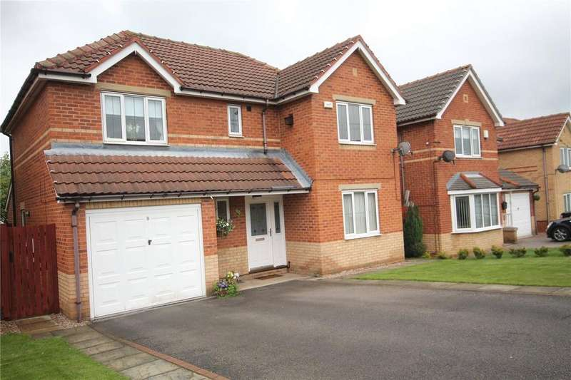 4 Bedrooms Detached House for sale in Deepdale Croft, Barugh Green, Barnsley, South Yorkshire, S75