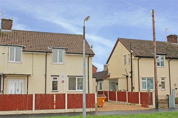 3 Bedrooms Semi Detached House for sale in Sandy Lane, Garden City, Deeside, Flintshire