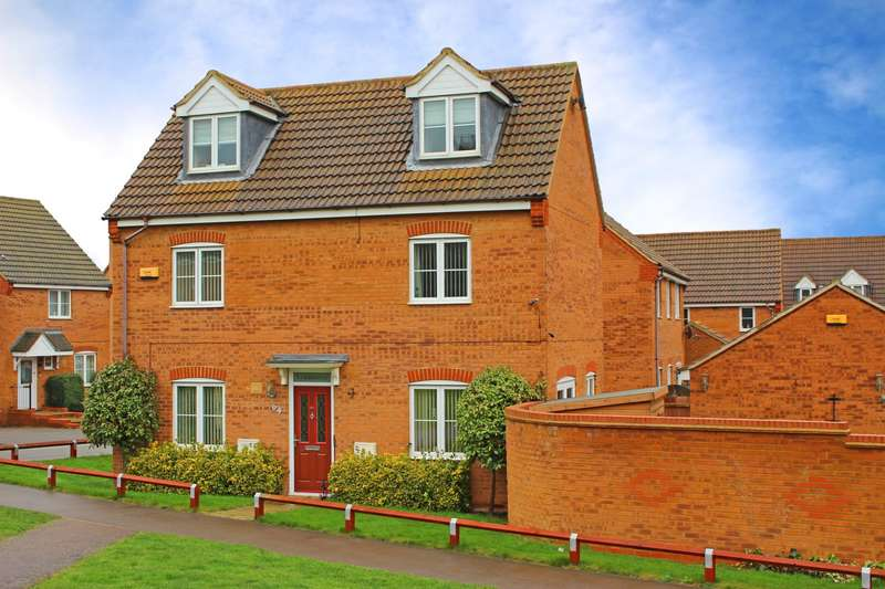4 Bedrooms Detached House for sale in Tailby Avenue, Kettering, NN16