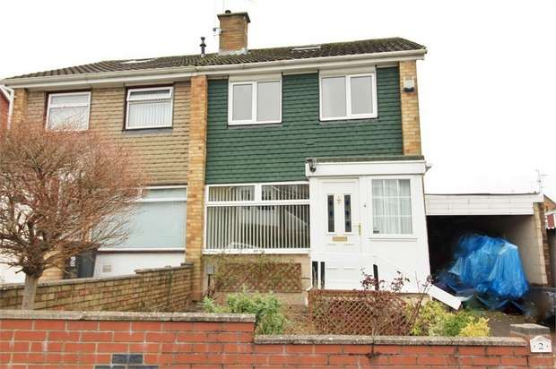 3 Bedrooms Semi Detached House for sale in Laurel Crescent, NEWPORT