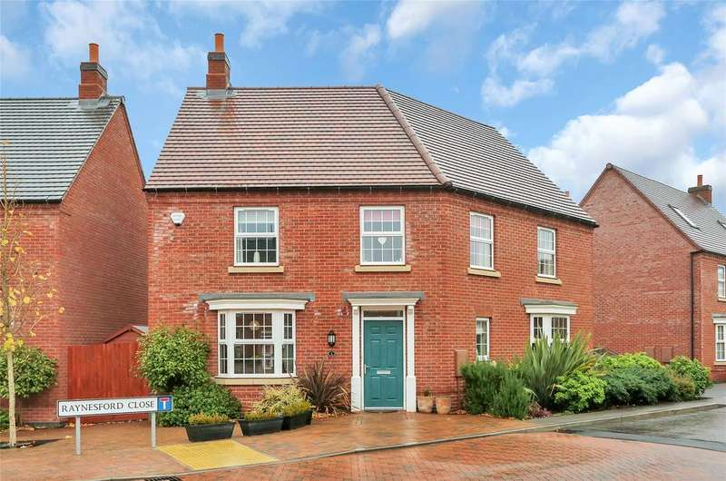 4 Bedrooms Detached House for sale in Raynesford Close, Quorn, Loughborough