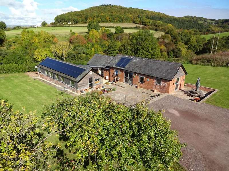 4 Bedrooms Detached House for sale in Wernfawr, Hospital Road, Talgarth, Powys