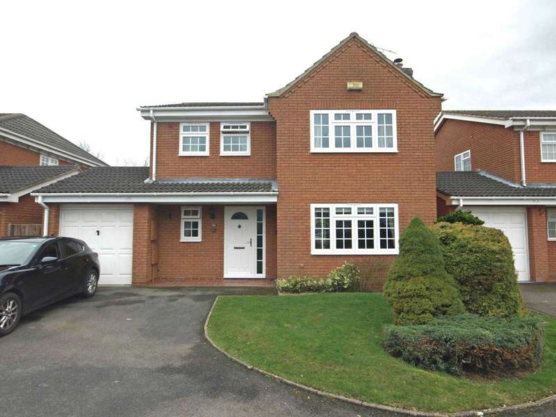 4 Bedrooms Detached House for sale in Merganser Drive, Bicester