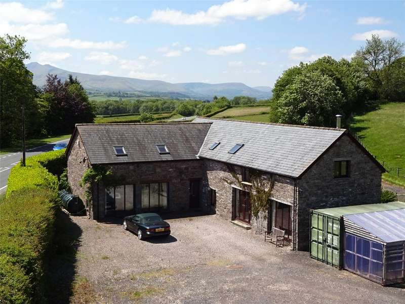 5 Bedrooms Barn Conversion Character Property for sale in Llanddew, Brecon, Powys