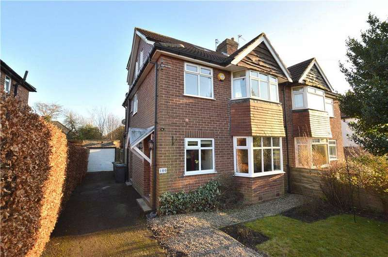 4 Bedrooms Semi Detached House for sale in The Avenue, Alwoodley, Leeds