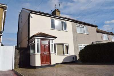3 Bedrooms Semi Detached House for sale in Mead Close, Harrow Weald