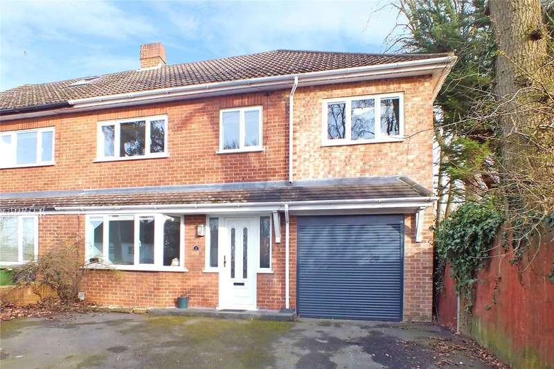 4 Bedrooms Semi Detached House for sale in Ferndale Road, Church Crookham, Fleet, GU52