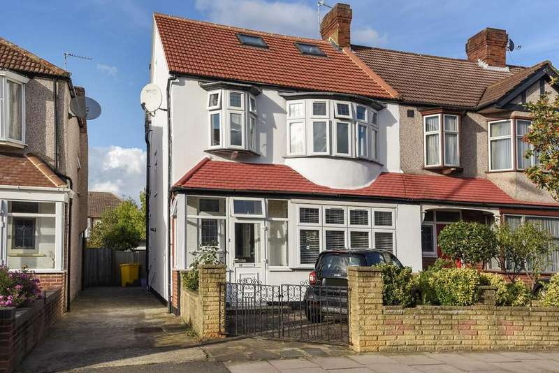 4 Bedrooms Terraced House for sale in Crossway, Raynes Park, SW20