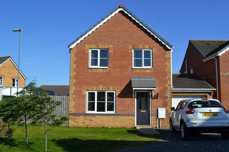 4 Bedrooms Detached House for sale in Holm Hill Gardens, Easington, Peterlee, Co.Durham, SR8