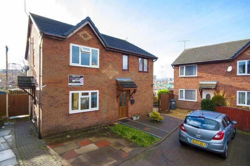 2 Bedrooms Semi Detached House for sale in West Street , Rhosddu , Wrexham , LL11 2HY