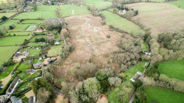Land Commercial for sale in Damerham.