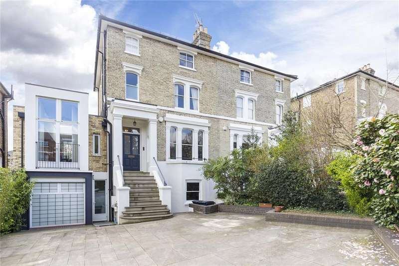 5 Bedrooms Semi Detached House for sale in Denmark Avenue, Wimbledon, London, SW19