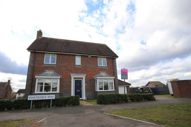 4 Bedrooms Detached House for sale in Partridge Way, Stanway, Colchester CO3