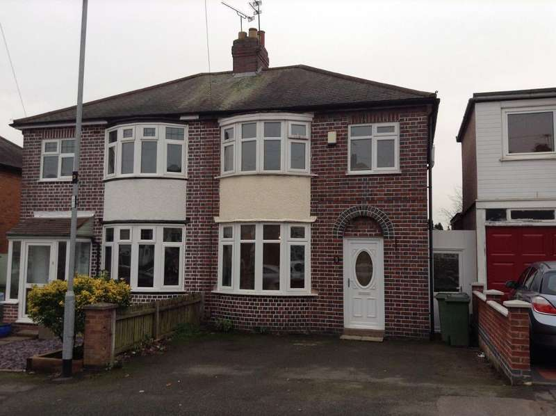 3 Bedrooms Semi Detached House for sale in Monica Road, Braunstone Town, Leicester, Leicestershire, LE3 2PR