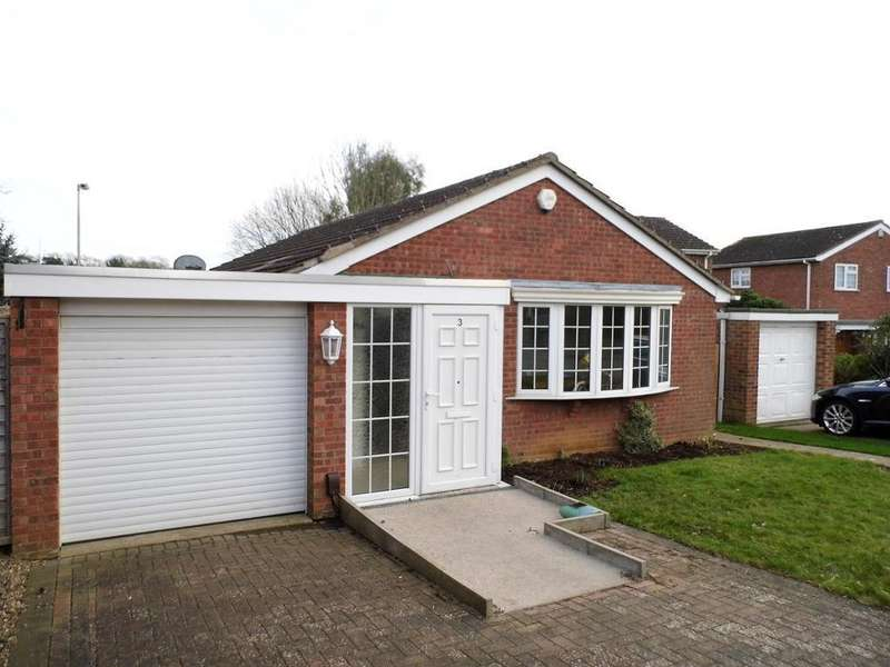3 Bedrooms Detached Bungalow for sale in The Hawthorns, Desborough, Northants, NN14 2TQ