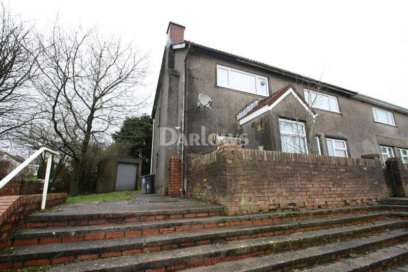 2 Bedrooms Maisonette Flat for sale in Lansbury Terrace, Beaufort, Ebbw Vale, Gwent