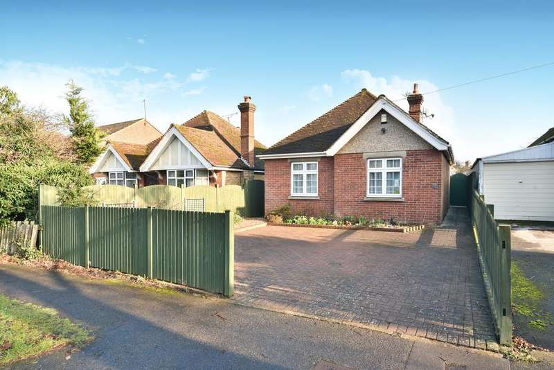 3 Bedrooms Detached Bungalow for sale in Marion Crescent, Maidstone