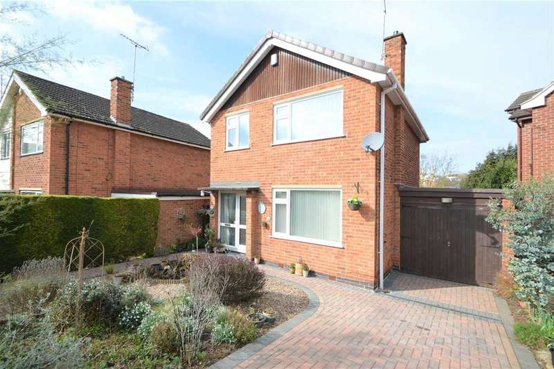 3 Bedrooms Detached House for sale in Lyncombe Gardens, Keyworth, Nottingham