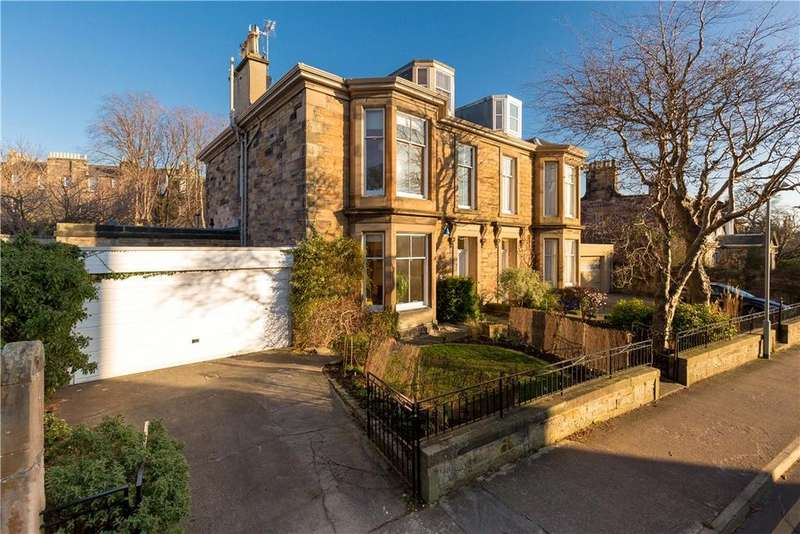 5 Bedrooms Semi Detached House for sale in Abbotsford Park, Edinburgh, Midlothian, EH10