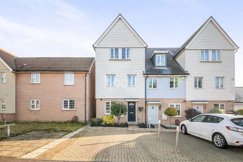 4 Bedrooms End Of Terrace House for sale in Heron Way, Dovercourt, Essex