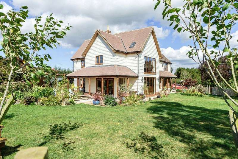 4 Bedrooms Detached House for sale in Whitehall Lane, Rudford, Gloucester, Gloucestershire, GL2