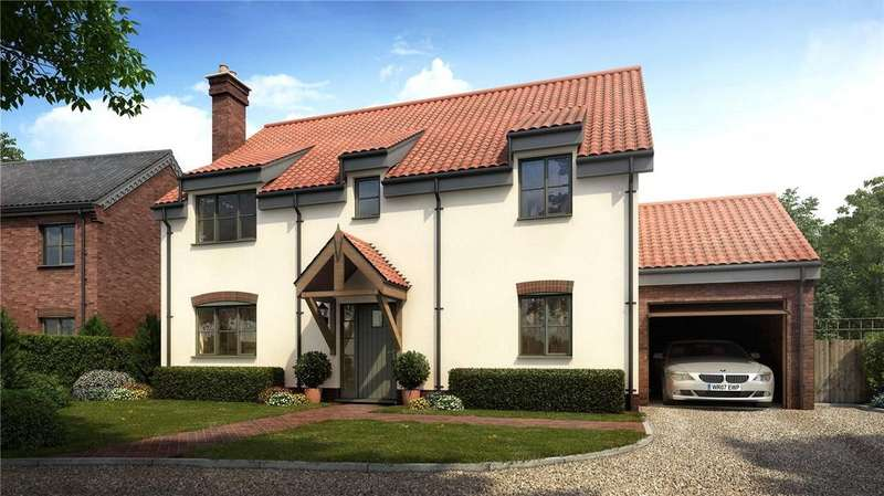 4 Bedrooms Detached House for sale in Plot 5, All Saints Meadow, Church Road, Wreningham, Norwich, NR16