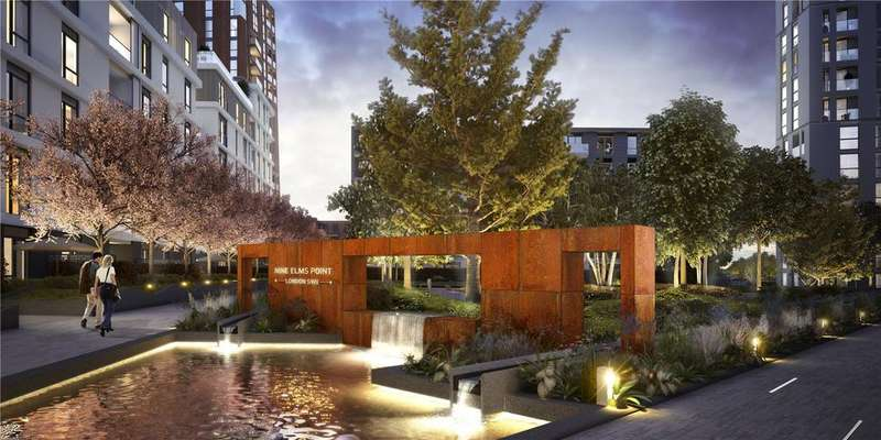 4 Bedrooms Apartment Flat for sale in Nine Elms Point, London, SW8