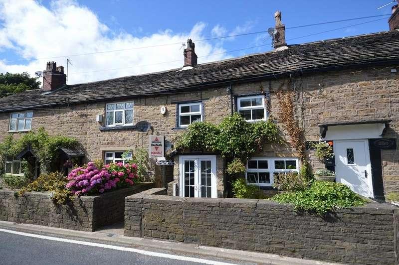 3 Bedrooms Terraced House for sale in Longhurst Lane, Mellor