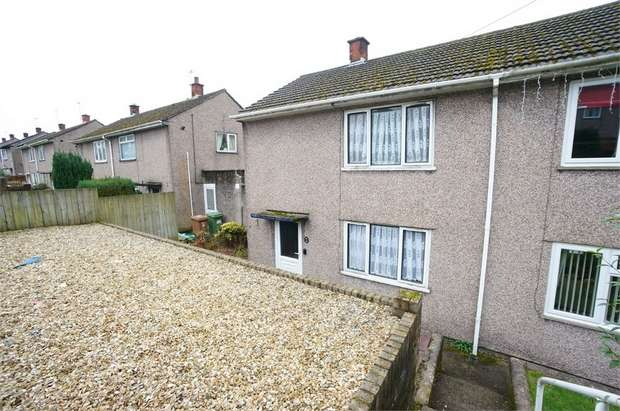 2 Bedrooms Semi Detached House for sale in Sycamore Crescent, Risca, NEWPORT, Caerphilly