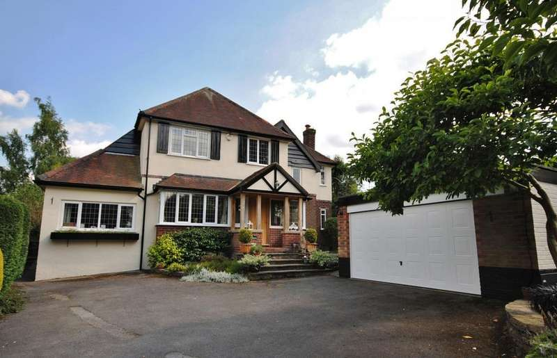4 Bedrooms Detached House for sale in Yew Tree Way, Prestbury