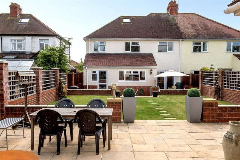 4 Bedrooms Semi Detached House for sale in Hamilton Road, Taunton, Somerset