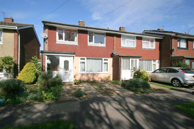 3 Bedrooms End Of Terrace House for sale in Brookfield Close, Havant