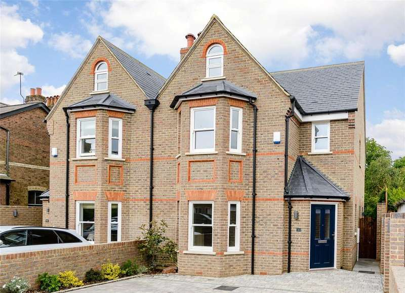 4 Bedrooms Semi Detached House for sale in Cowper Road, Harpenden, Hertfordshire, AL5