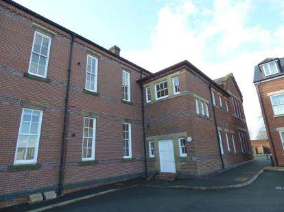 2 Bedrooms Flat for sale in Wynstay Apartments, Corunna Court, Wrexham, Wrecsam, LL13