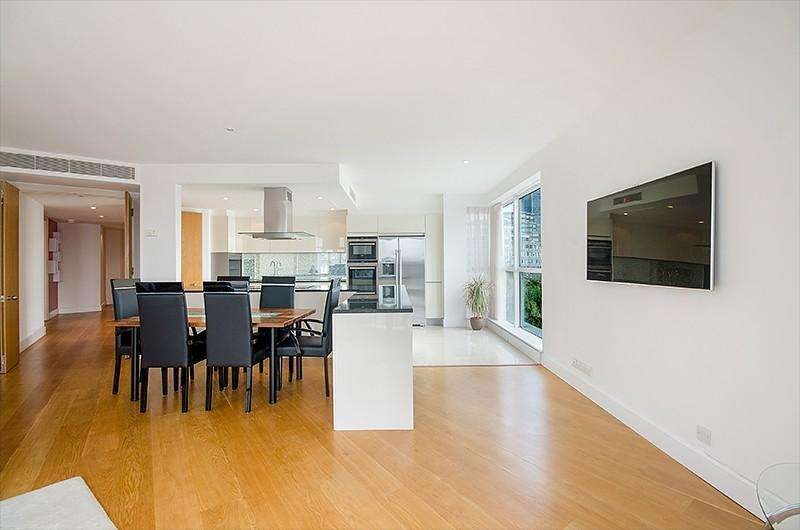 4 Bedrooms Flat for rent in Hanover House, Westferry Circus, Nr Canary Wharf, London, E14