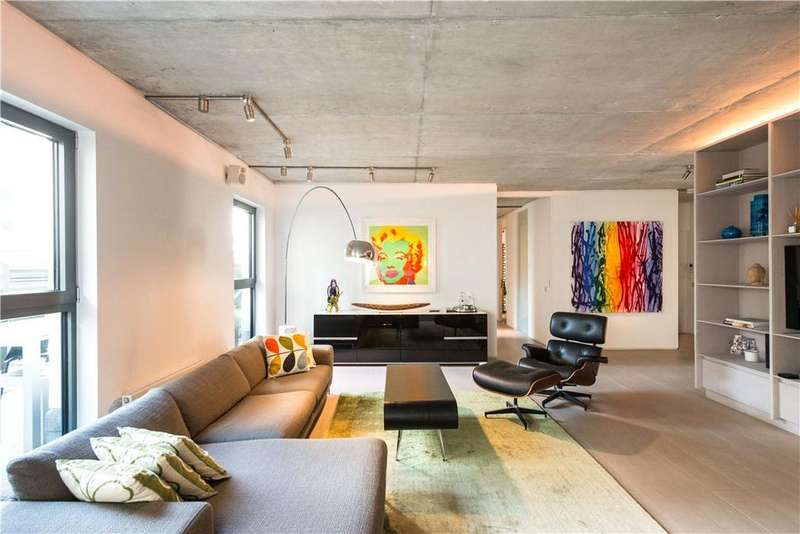 4 Bedrooms Flat for sale in Lock House, 35 Oval Road, Camden, London, NW1