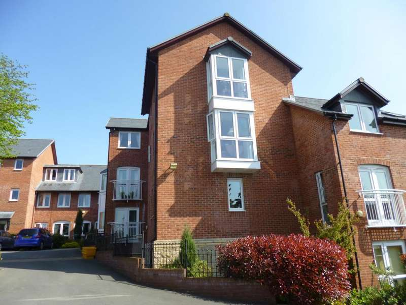 1 Bedroom Retirement Property for sale in Burgess Court, Gravel Hill, Ludlow, Shropshire