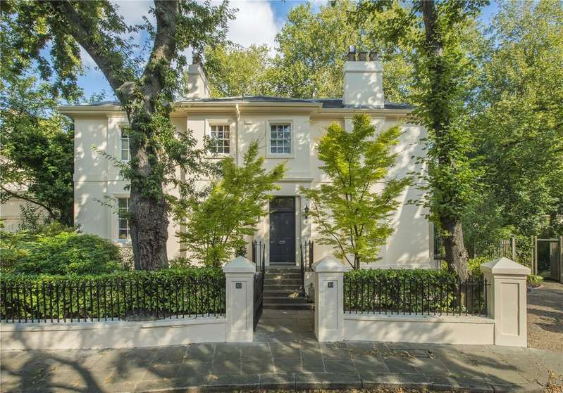 6 Bedrooms Detached House for sale in Park Village West, Regent's Park, London, NW1