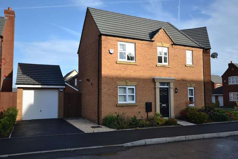 3 Bedrooms Semi Detached House for sale in Linby Way, Waterside Village, St. Helens