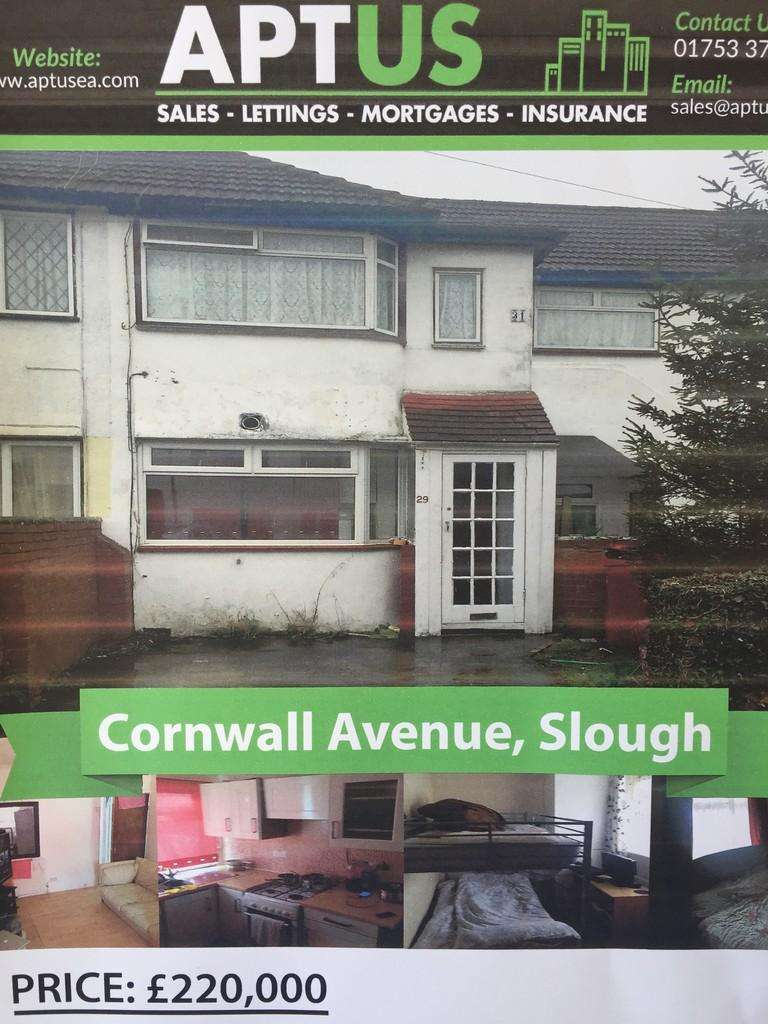 2 Bedrooms Apartment Flat for sale in Cornwall Avenue, Slough