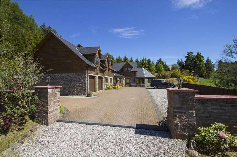 4 Bedrooms Detached House for sale in Lower Freuchies, Glenisla, By Blairgowrie, Perthshire, PH11